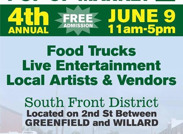 4th Annual Willard Street Fair – June 9th