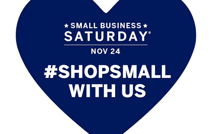 Small Business Saturday November 24th
